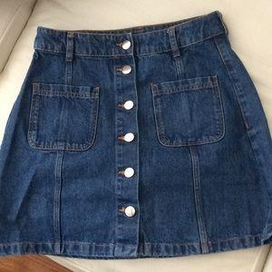 Denim Jean Skirt  by Divided